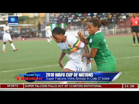 Super Falcons Win Bronze In 2018 WAFU Cup Of Nations | Sports Tonight |