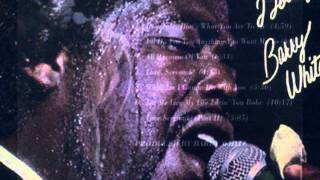 "Lost & Found: Barry White ""Let me live my life lovin"