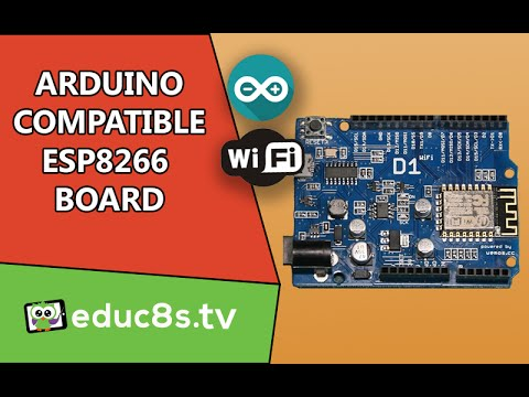Arduino ESP8266 Tutorial: First look at the WeMos D1 Arduino