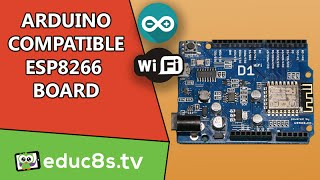 Arduino Tutorial: First look at the WeMos D1 Arduino compatible ESP8266 Wifi Board from Banggood.com
