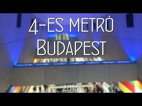 4-es Metró M4 Budapest