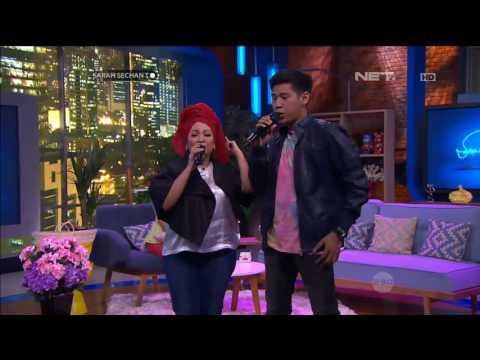 Rieka Roslan Ft. Nino RAN - Teh dan Kopi ( Live at Sarah Sechan )