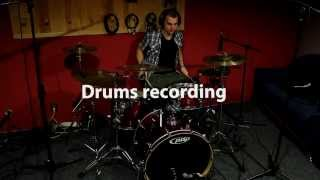 Drums recording - Perez records 2013