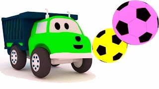 play-football-learn-colors-shapes-with-ethan-the-dump-truck-educational-cartoon-for-children