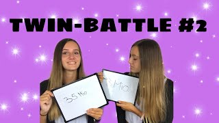 Zwillings-Battle Teil 2: Wer ist schlauer? | lesotwins 👯♀️