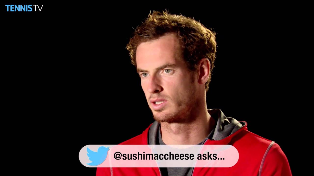 Andy murray twitter - Andy Murray Twitter Q A