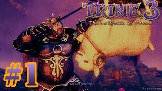 Trine 3: The Artifacts of Power - Gameplay Walkthrough Part 1 - Early Access [HD ]