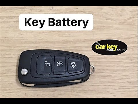 Key Battery Ford Focus Mondeo Smax Cmax Flip Key How To