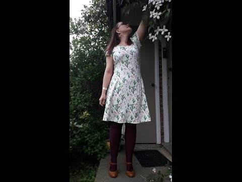Sewing Pattern Review Lady Skater Dress By Kitschy Coo Patterns