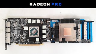 Radeon PRO WX 5100 - Naked & Unleashed - Render | Games | Bios MOD | PCB & VRM Review