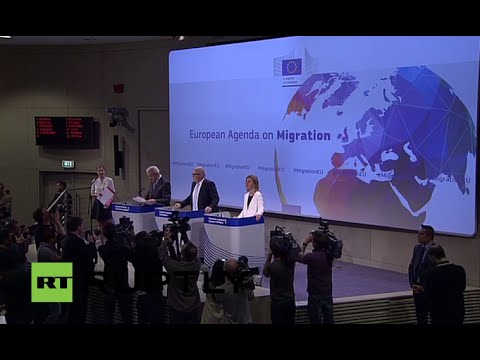 LIVE: EC to propose mandatory refugee quotas for EU states