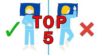 Top 5 návyků, se kterými si každý den škodíme a nevíme o tom