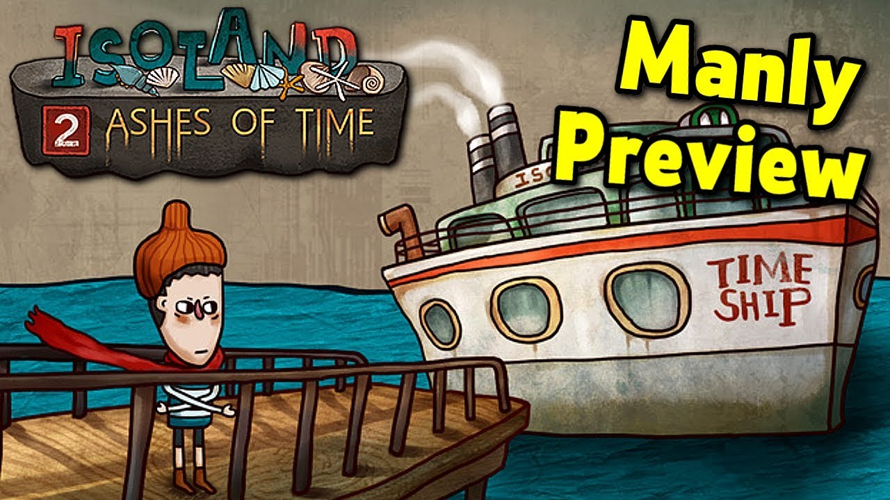 Isoland 2 - Cute Puzzle Adventure Game aka MANLY TRIES TO SOLVE PUZZLES  (SPONSORED)