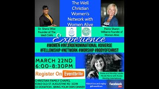 The Well CWN and Woman Alive March 2021 meeting