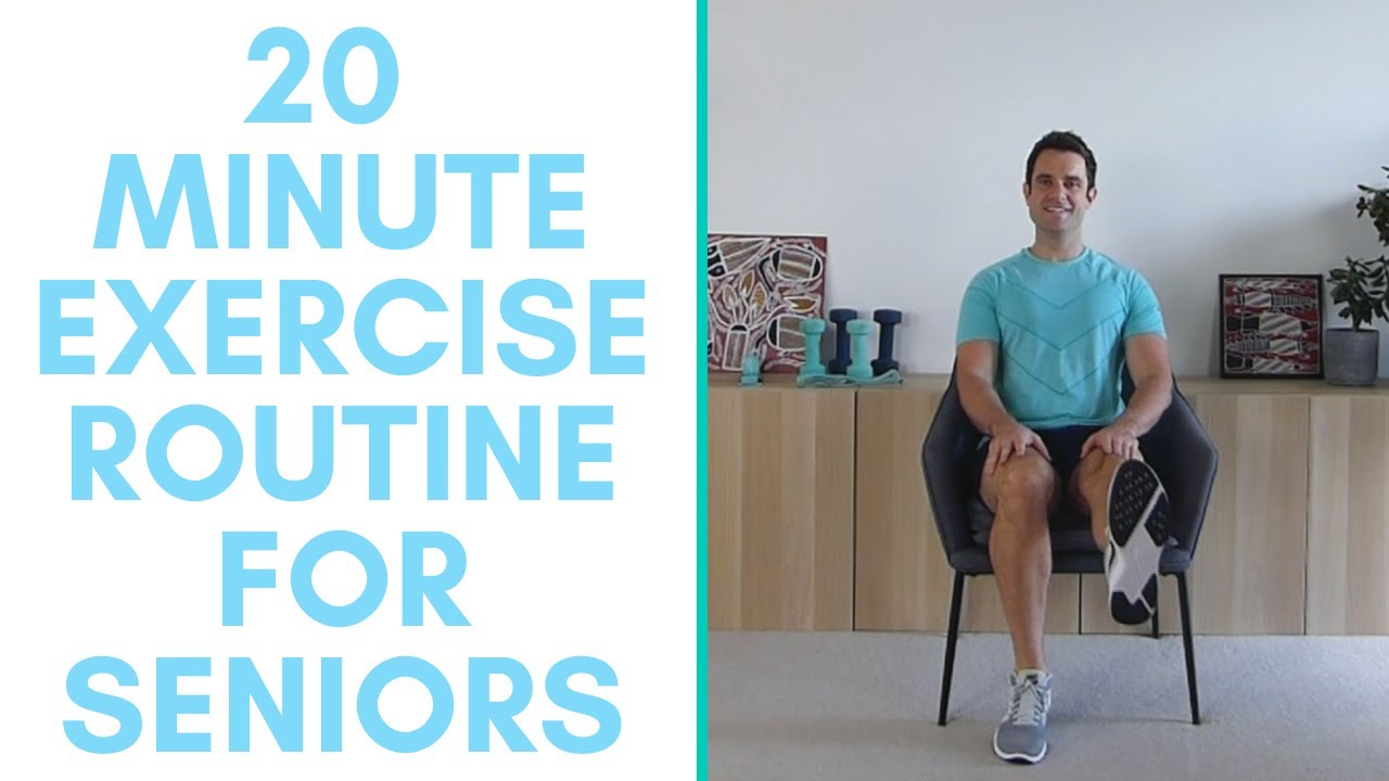 Full Exercise Routine For Seniors (20-Minutes) | More Life Health