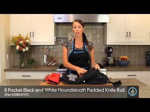 Messermeister 1066-12/B Twelve Piece Knife Roll video_2