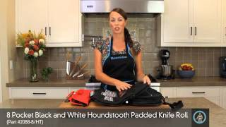 Messermeister 8-Pocket Padded Knife Bag video