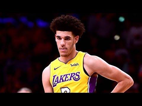 Lonzo Ball NBA Debut! Blake Griffin Dunks on Randle! Clippers vs Lakers 2017-18 Season