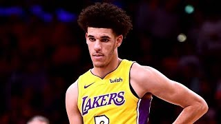 Lonzo Ball NBA Debut! Blake Griffin Dunks on Randle! Clippers vs Lakers 2017-18 Season