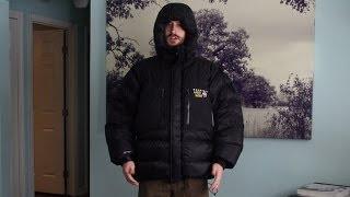 Mountain Hardwear Absolute Zero jacket revew - Warmest jacket in the world!