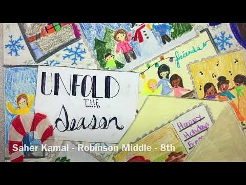 """Unfold the Season"" the 2017 Plano ISD Holiday Greeting Cards Contest"