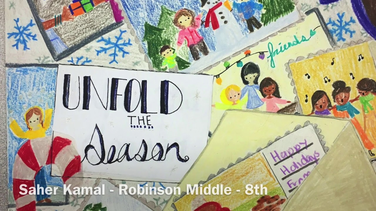 Unfold The Season The 2017 Plano Isd Holiday Greeting Cards Contest