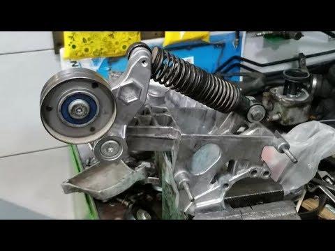 Многие думают что натяжитель ремня генератора вечный на Audi A4 2.5D, AFB