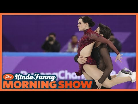 Ice Dancing is Nick's New Obsession - The Kinda Funny Morning Show