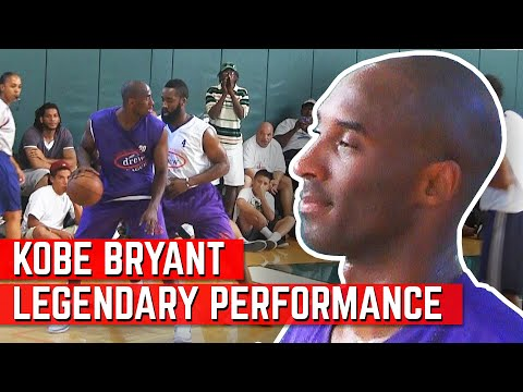 Kobe Bryant LEGENDARY Performance VS James Harden At Drew League!