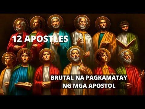 Paano Namatay Ang Mga Apostol ni Jesus Christ- #boysayotechannel