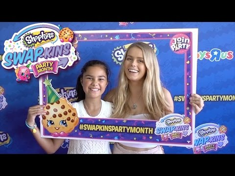 My Day at the Shopkins Swapkins Event (Season 7 Shopkins, Meet & Greet, Party Song)