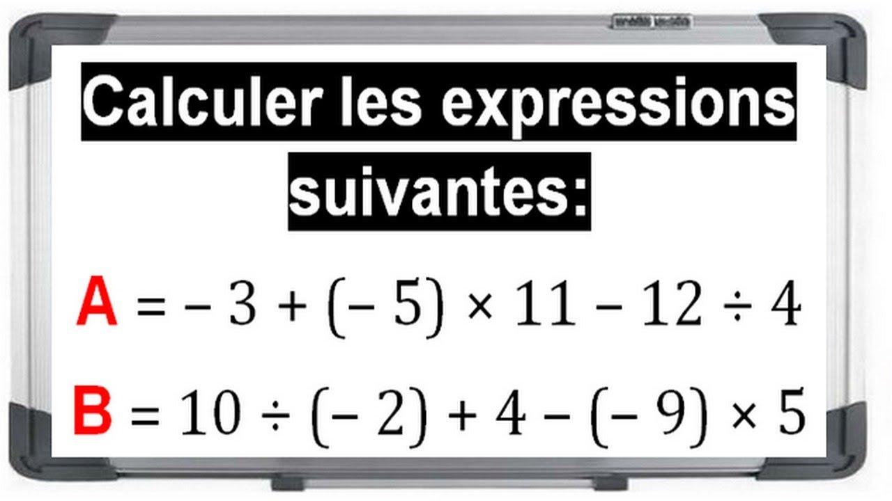 Opérations sur les fractions - exercices corrigés 5ème