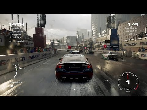 GRID 2019 Part 6 Action Racing 16 Cars Game Play with Commentary RACE DAY |