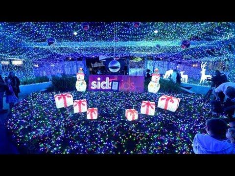 Australian Sets World Record for Christmas Lights - Australian Sets World Record For Christmas Lights - YouTube