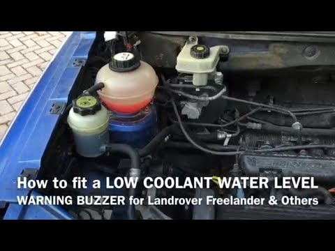 How to Fit a LOW COOLANT WATER LEVEL warning alarm