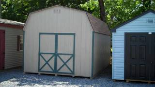 Storage Sheds, 12x20 Wood Dutch Barn