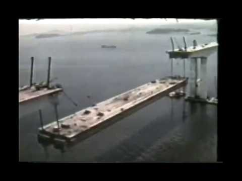 Como foi construída a ponte Rio-Niterói?