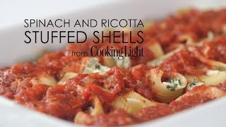 How To Make Spinach And Ricotta-stuffed Shells | Myrecipes