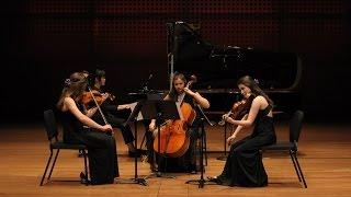 Mahler: Quartet in A minor for Piano, Violin, Viola, and Cello, Nicht zu schnell