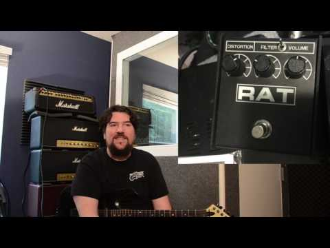 I try and recreate the OBITUARY death metal guitar sound!