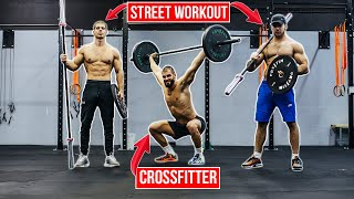 STREET WORKOUT tries CROSSFIT for the first time!