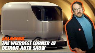 The Weirdest Corner at Detroit Auto Show