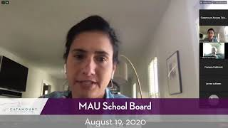 Mount Anthony Union School Board // 08/19/20
