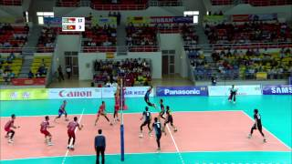 27th SEA GAMES MYANMAR 2013 - Volleyball 14/12/13