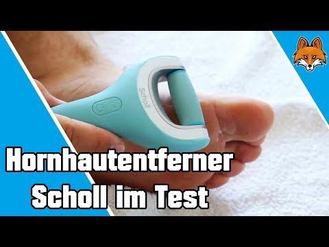 elektrisk fotfil scholl test