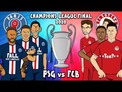 🏆PSG Vs FCB Champions League Final 2020🏆 (Training Montage 1-0 Bayern Munich Paris St Germain)