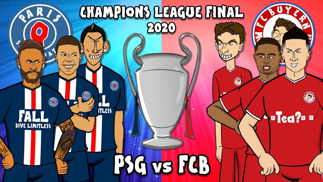 Psg Vs Fcb Champions League Final 2020 Training Montage 1 0 Bayern Munich Paris St Germain Youtube