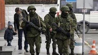 Крым Российские военные захватили Крым Война за Крым
