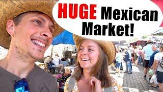 #164. What the TIANGUIS! (Mexican Street Market Ajijic, Jalisco) + Laska is LOCA!