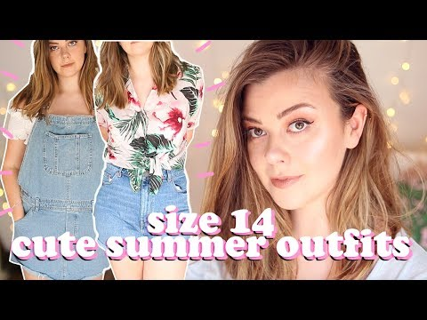 SIZE 14 SUMMER OUTFITS  MINI ASOS HAUL  LUCY WOOD